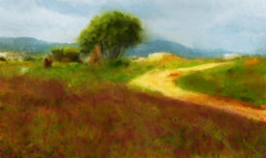 behind faro (clive sax) Tags: painterly portugal faro countryside algarve