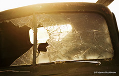 Like a Rock (/ shadows and light) Tags: old sun abandoned broken glass rural decay manitoba sharp vehicles flare dodge trucks windshield exploration automobiles decayed beaters clunkers tamron2875mmf28 rurex lowefarm