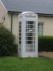 White Phone Box at Slaugham