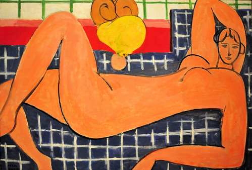 Henri Matisse - Large Reclining Nude (The Pink Nude) at Baltimore Art Museum