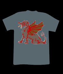 Dragon T-shirt (Artubble) Tags: blue school boy shadow red sea summer people urban orange woman white haircut abstract man black game color sexy male green art beach girl beauty smile face grass smiling fashion sport shop shirt illustration youth hair asian happy mirror design clothing model hands heaven dragon hand adult body young tshirt clothes communication business health blank barber teenager presentation shape fitness polo youngwoman clippers razor youngperson
