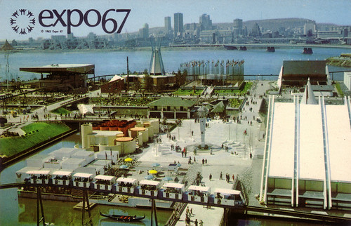 Exciting view at Expo 67