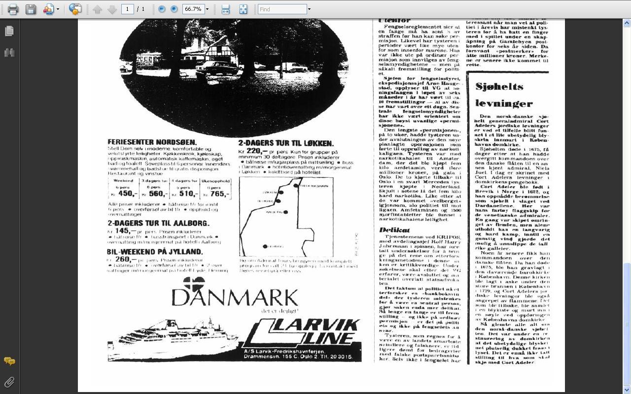 cort adeler funnet 1977