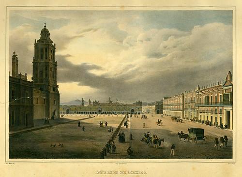 020- Ciudad de Mexico-Voyage pittoresque et archéologique dans la partie la plus intéressante du Mexique1836-Carl Nebel