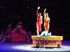 Balancing acrobats.