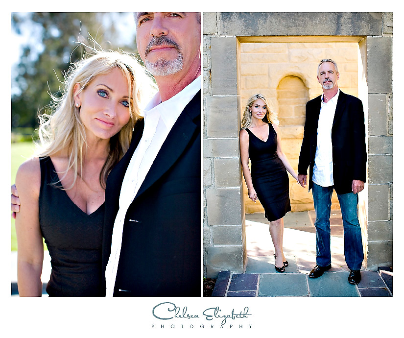 los angeles classy elegant engagement photography