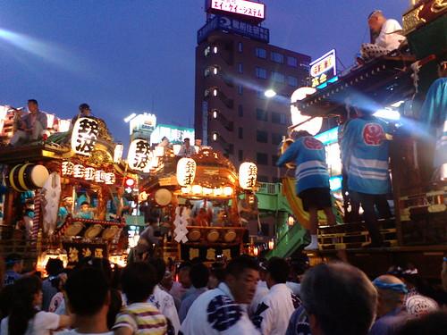 2007年度うちわ祭2日目