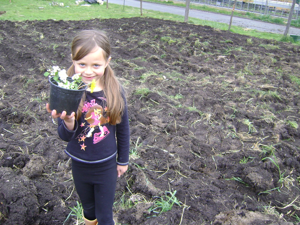 Lucile went exploring and found loads of flowers
