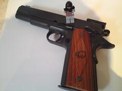 Ma gun ( !! ) Tags: brown white black army gun lego scope military terrorist weapon minifig dynamite bombs weapons brickarms