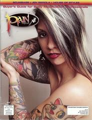 Jen Beirola - Cover, Pain Magazine