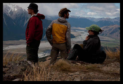 Rest at the summit of Mount Bealey - Arthur's Pass, NZ