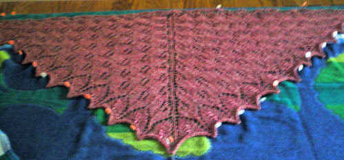 chana shawl pinned