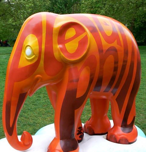 Elephant coming...