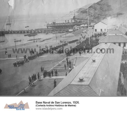 4.Base Naval de San Lorenzo, 1926