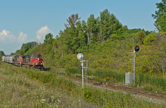 CN 2531 (Ramblings From The 4th Concession) Tags: cn freighttrains ge cnrail diesellocomotives gelocomotives