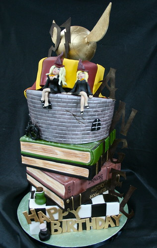 Angel Porrino's Harry Potter cake