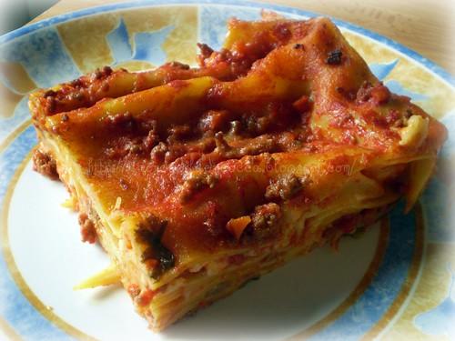 Lasagna - pasta al forno