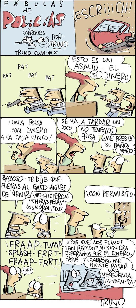 Trino Fábulas de Policias y Ladrones, Reforma 13-05-2010