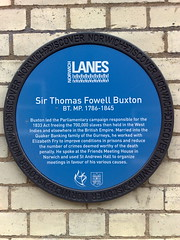Photo of Thomas Fowell Buxton blue plaque