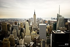 NY: Skyline from the Rock! (jmavedillo - NTF) Tags: usa ny rock high state pentax empire rockefeller javier alto martinez icono mirador eeuu tipica avedillo k200d jmavedillo