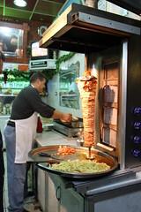 He's making orders ready! (CTPPIX.com) Tags: trip travel food canon eos cafe fridge tour zoom urlaub middleeast cook gyros frenchfries apron tur arab fries drinks 7d syria cp turk aleppo owner doner customers shawarma tarna donerkebab arap suriye halep souria bufe ctpehlivan tavukdoner christpehlivan ctppix ortadogu chickengyros