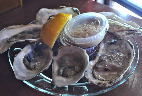 Raw Oysters at Union Oyster House