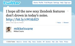 Zendesk CEO Noise Comment