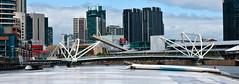 Walk Bridge, Yarra River, Melbourne. (Scottmh) Tags: bridge river 50mm nikon bridges australia melbourne victoria yarra f14g