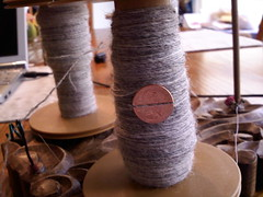 Stansborough Grey Handspun singles