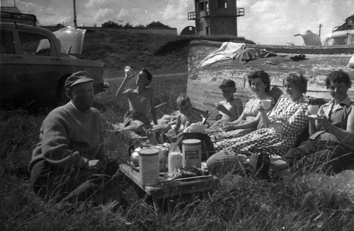 Holiday at Rosemarkie, Black Isle, 1960