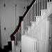 Lebanon, Redwood, David Trumbull Hse, stair hall