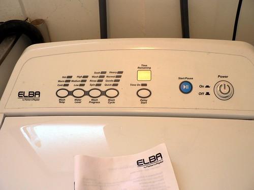 Elba Washing Machine