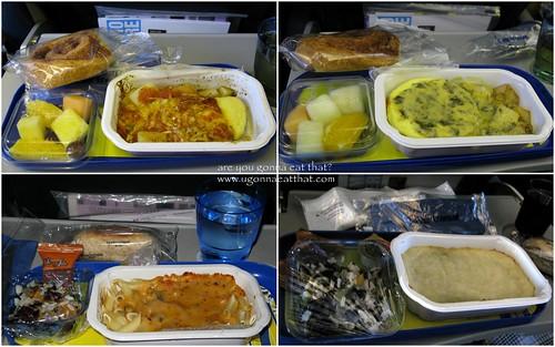 Air Transat meals