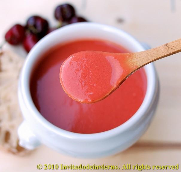 Cherry gazpacho 2