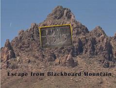 Escape from Blackboard Mountain