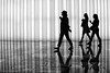 A Silhouette Parade (CVerwaal) Tags: nyc newyorkcity girls newyork canon reflections silhouettes wintergarden worldfinancialcenter artlegacy canong9