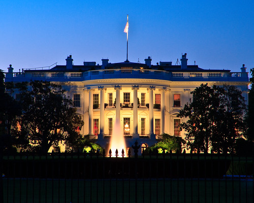 Whitehouse at Twilight