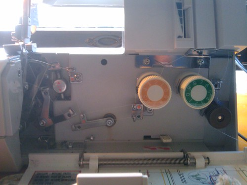 inner workings of my serger