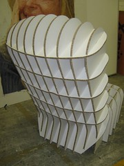 Sky-Rider Chair using 10mm X-Board Print