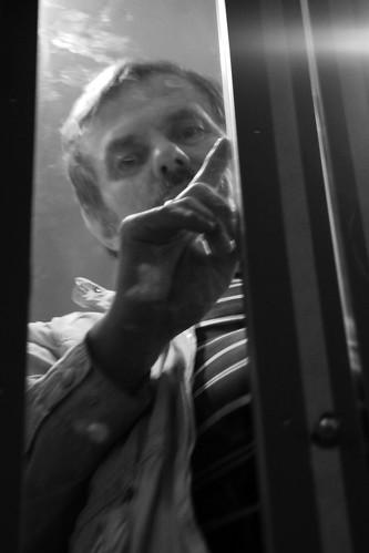 Папа в лифте