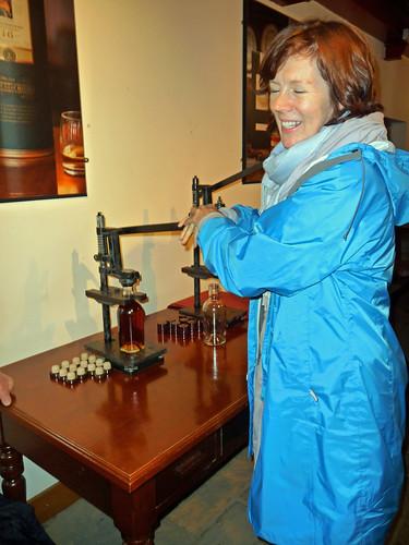 Bottling Whisky at Aberlour