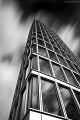 Windows In The Sky (Gary Newman) Tags: uk longexposure windows england bw building glass vertical bristol templequay templeback leebigstopper verticalbristol