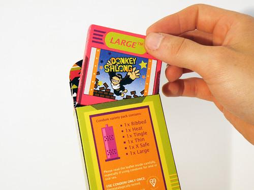 Póntelo, pónselo (condones de GameBoy para todos)