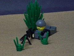 Modern Warfare 2 Navy SEAL Sniper (Vengeance of Lego) Tags: 2 6 3 brick modern 1 war call gun desert arms lego 5 duty 4 7 8 camo sniper ba cod warfare silencer