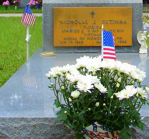 Nicholas Cutinha's Grave - Ft. Denaud Cemetery