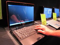 NVIDIA Optimus at Computex 2010 - Gateway EC39C