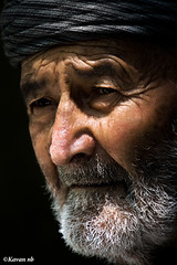 ... (kavan.) Tags: light portrait people black looking iran oldman kurdistan kurdish kurd kavan kordestan 400d 70200lf4isusm