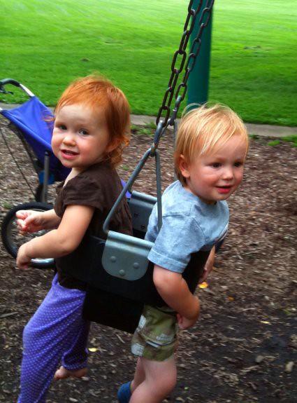 double swing!