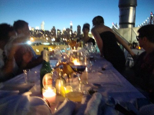 roof top dinner party new york city