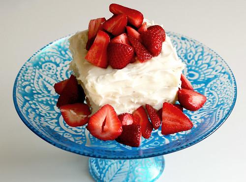 DIY taart standaard geverfd